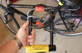 Cómo montar una bicicleta pesada U Lock con un DIY soporte