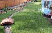 Restaurar un jardín con tierra muerto (antes y después)