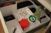 Cajas de organización de cajón montaje personalizado