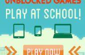 Cómo jugar a los juegos en la escuela