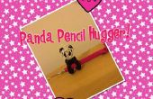 Como hacer un Panda lápiz Hugger