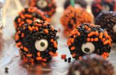 Uno ojos pegajosos bolas de Chocolate