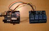 Control remoto 4 relé con Arduino a través de WIFI (touchOSC + proceso)