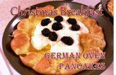 Desayuno de Navidad - horno alemán crepes