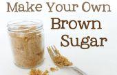 Sustituto de azúcar morena | Hacer azúcar morena en casa