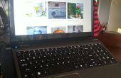 DIY soporte del ordenador portátil lap y escritorio [hack de Ikea y eBay]