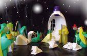Natividad poco ortodoxo, mensaje de Gabriel en una botella de plástico