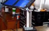 Seguidor-solar Solar con motores a paso + Arduino