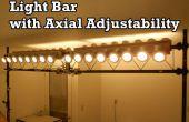 Barra de luz con ajuste Axial