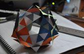 Dodecaedro papel modular