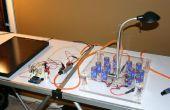 Solar Powered LED/ultracondensadores Arduino regulado luz