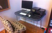 Construir un escritorio concreto.