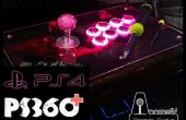 Jugar en PS4 con el mod de PS360 + Arcade Stick/Fight Stick