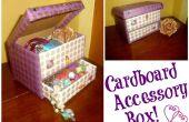 DIY caja de accesorios de cartón