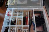 Transformar una pesca herramientas caja a caja de herramientas de una robótica