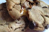 Cookies de caramelo salado vía Láctea