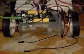 Programables de coches Robot usando Mediatek LinkIt un tablero y el IC del controlador de Motor L293D