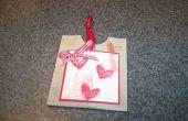 Dispensador de goma de San Valentín DIY fácil