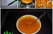 Sopa de calabaza casero