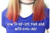 Cómo sumergir-teñimos el cabello con Kool-Aid