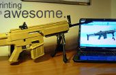 Rifle para imprimir 3D