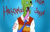 Simon el zombie con el Sketchbook Pro 5 & Wacom