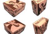 Caja de Origami personalizados regalo