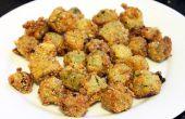 Receta para hacer el perfecto frito de quimbombó (okra frita)