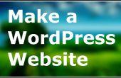 Cómo construir un sitio web simple con WordPress