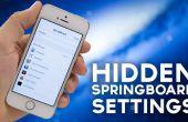 Opciones ocultas de Springboard de iOS 7: cómo ellos encendido [iPhone 5S requiere Jailbreak]
