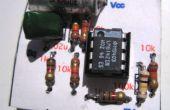 Una placa de circuito impreso sin soldadura