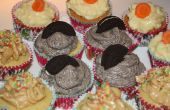Deliciosos Cupcakes - Oreo, zanahoria, mantequilla de maní!