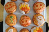 Pan frito con temática de Halloween