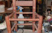 Mosaico de plantador de la silla