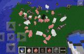 Explosiones de animales de Minecraft