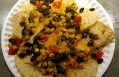 6 ingredientes finales Nite Munchie Nachos