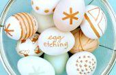 Grabado de huevo