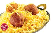 Murgh Noormahal Biryani (pollo Kofta Biryani)