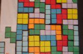Cómo hacer una pared de Tetris