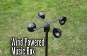 Wind Powered caja de música