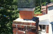 Regulador de tiro de chimenea - cómo instalar chimenea chimenea amortiguador paso a paso