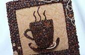 Cuadro café hecho a mano: una gran Idea del regalo!