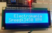 RPM del ventilador con sensor de efecto hall interno y Arduino (introducción a la interrupción de Hardware y pantalla LCD)