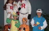 Team Rocket, Meowth, Oshawott, Snivy y Charmander