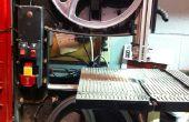 Cómo reemplazar la hoja de una sierra de cinta 9 pulgadas