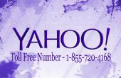 1-855-720-4168 Yahoo Mail Customer Support Services incluye número