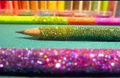 Ombre DIY Glitter lápices