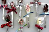 Vintage Chocolate Dipping Spoons