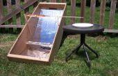 Construir una cocina solar perro caliente