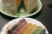 Pastel de arco iris!